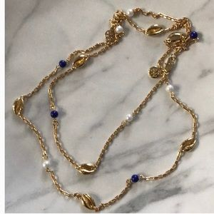 Nwot tory burch long necklace